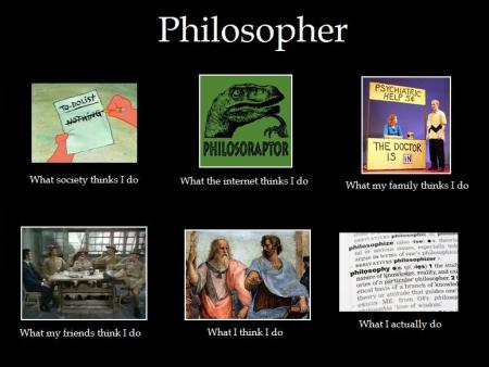 Perceptions of philosopher image